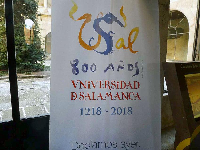 sample of Salamanca's typeface