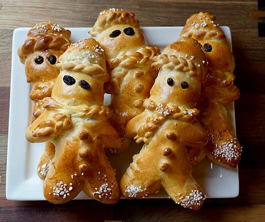 Grittibänz (bread men)