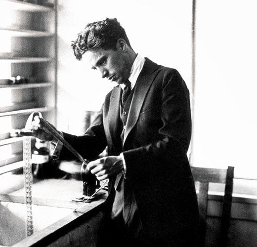 Charlie Chaplin at 19