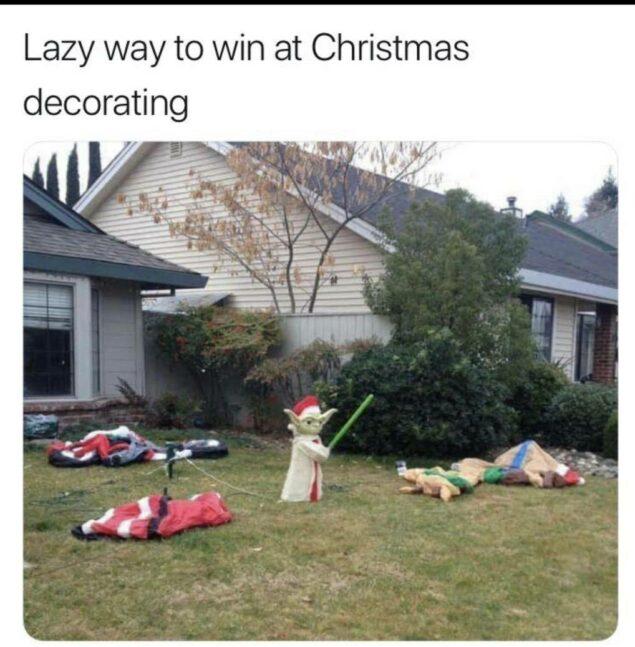 Parting Shot: Christmas Decorating