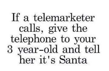 Christmas Telemarketer