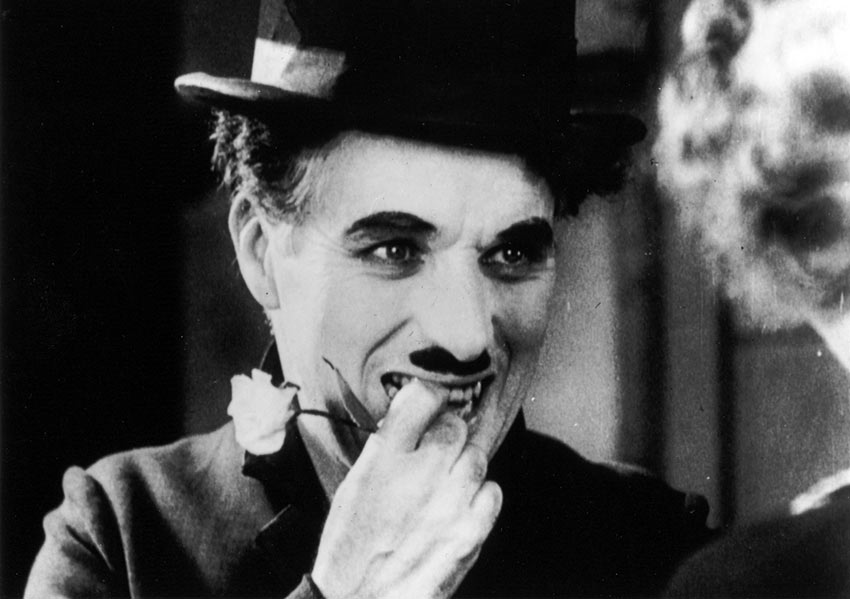 final close-up in Chaplin's 'City Lights'