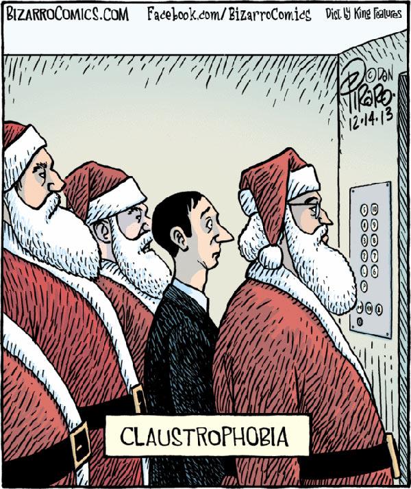 Parting Shots: Claustrophobia