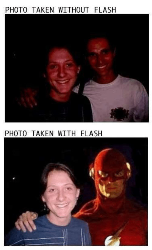 Parting Shots: Flash