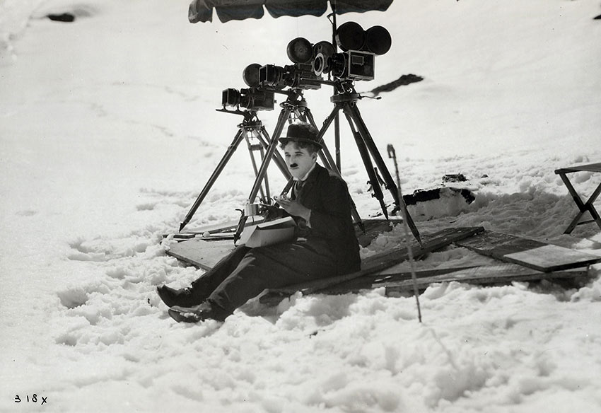 Charlie Chaplin on the Gold Rush