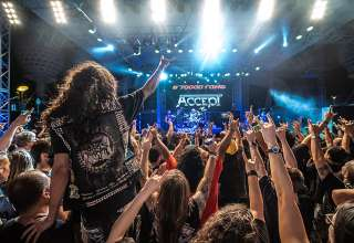 metal band at the 70000 Tons of Metal cruise