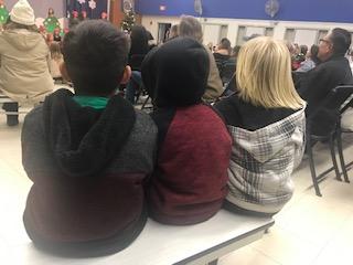 kids at Christmas Play