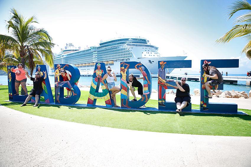 at Labadee, Haiti