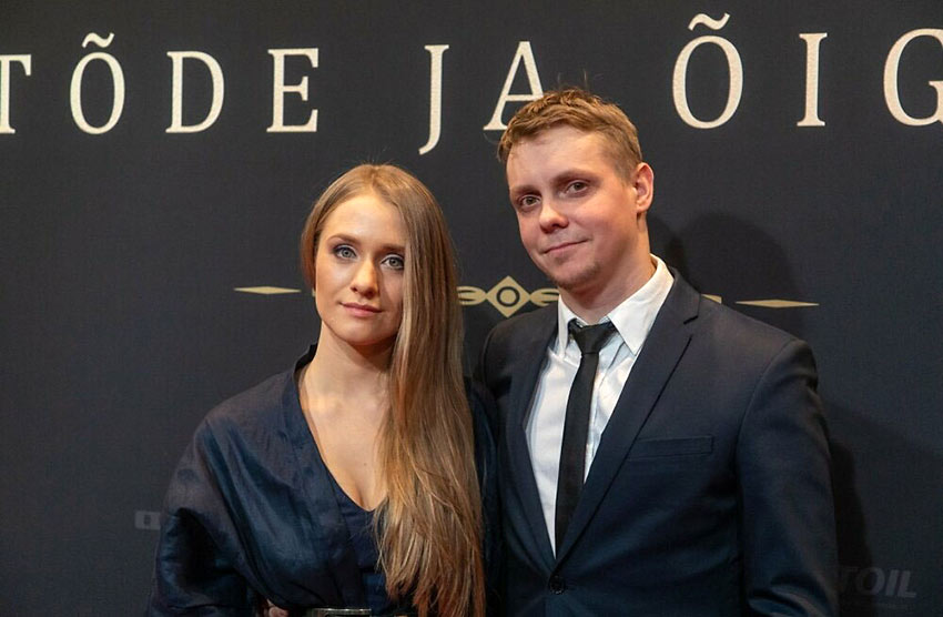 Maia Vahtramäe with director Tanel Toom