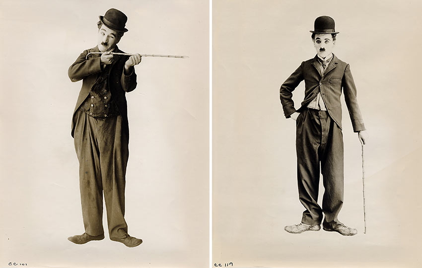 Charlie Chaplin as The Tramp