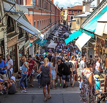 crowded Venice