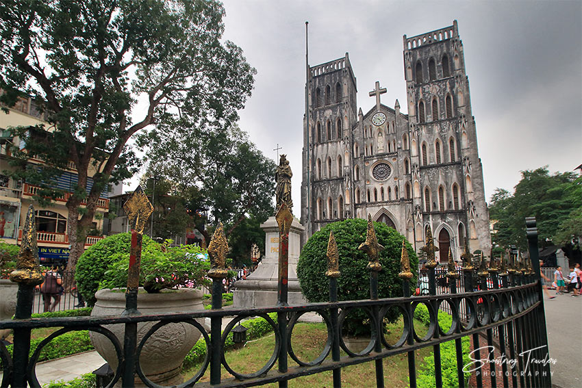 St. Joseph's Cathedral at the Old Quarter, Hanoi