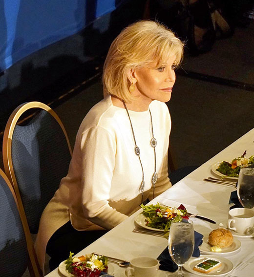 Jane Fonda at the National Press Club