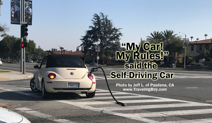 Parting Shot: Self-Driving Car
