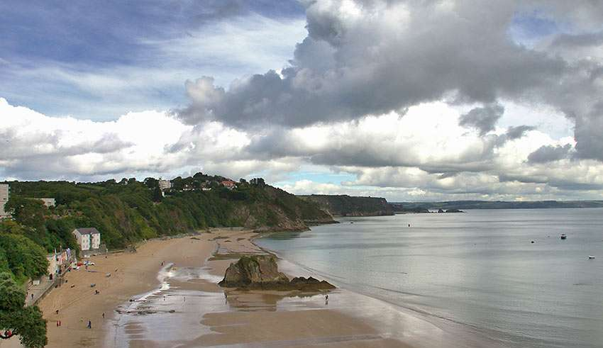 Tenby Beach, South West Wales