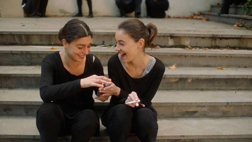 Ana Makharadze (Sopo) and Ana Javakishvili (Mary)