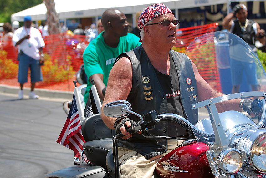 bikers at Myrtle Beach