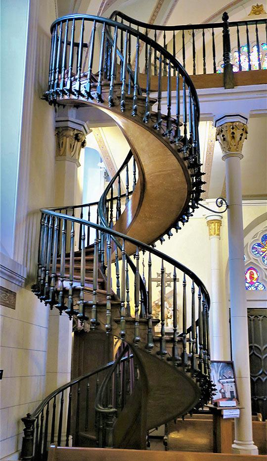 staircase at Loretto Chapel, Santa Fe