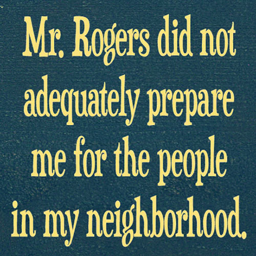 Parting Shot: Mr. Rogers' Neighborhood