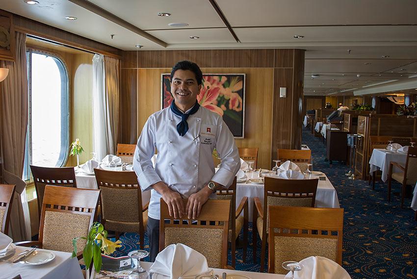 Executive Chef Roland Sargunan from Malaysia