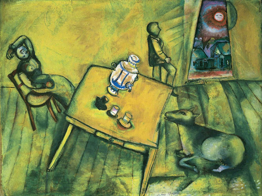Marc Chagall's 'The Yellow Room'