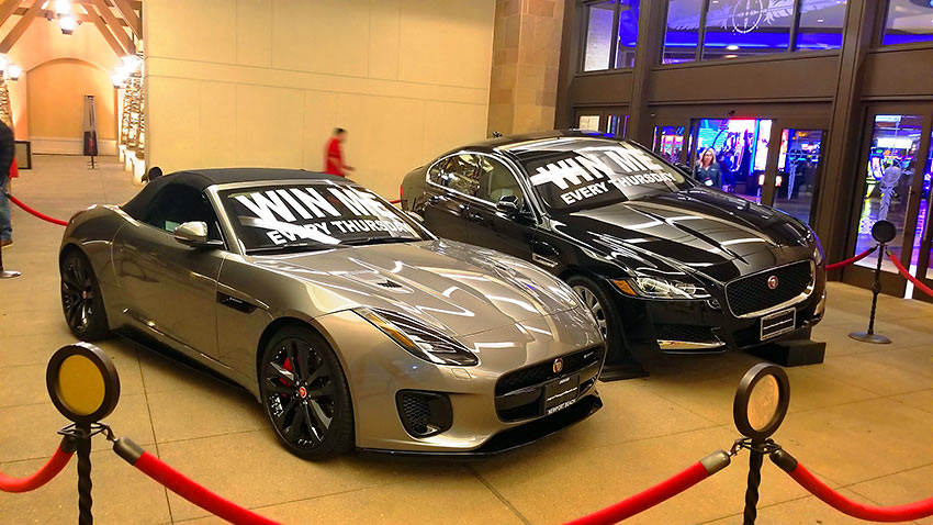 car prizes at San Manuel Casino