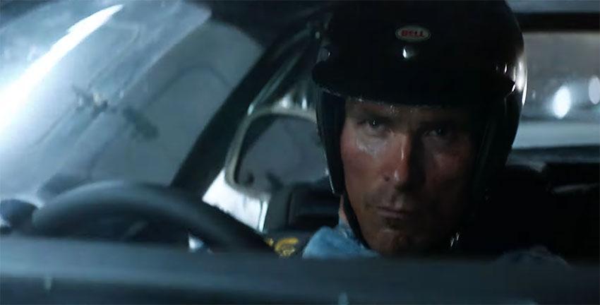 Christian Bales in 'Ford v Ferrari'