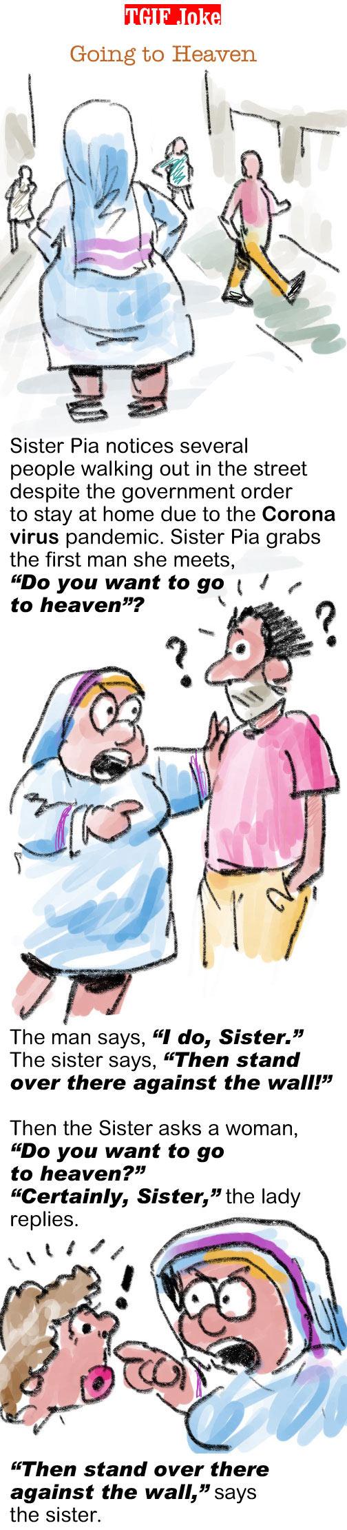 TGIF Joke of the Week: Going to Heaven 1