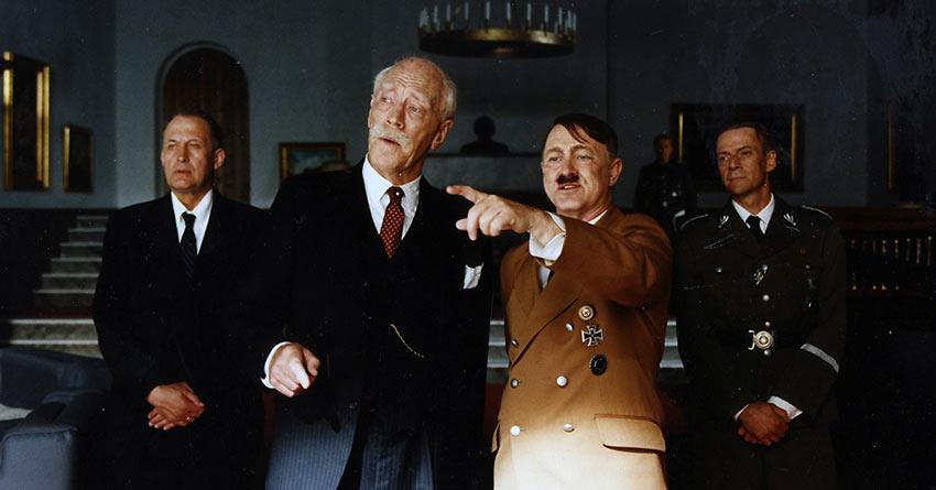 von Sydow in the film 'Hamsun'