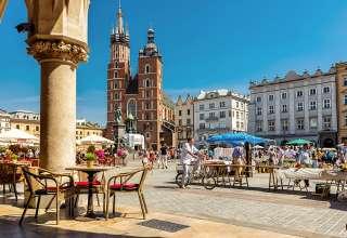 Kraków's Main Market Square