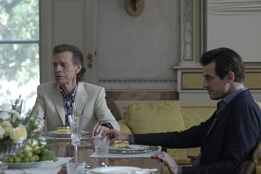 Mick Jagger as Joseph Cassidy, Claes Bang as James Figueras