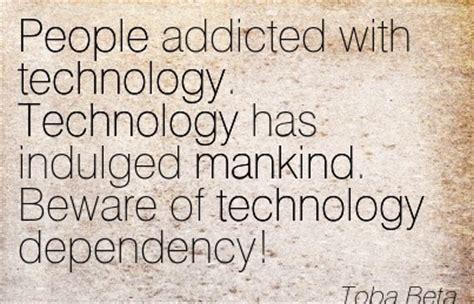 technology dependency