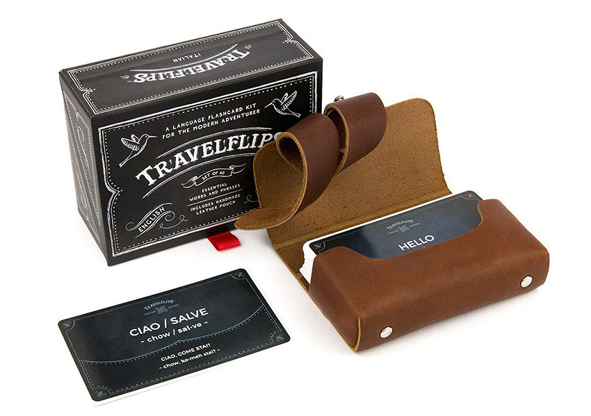 Travel Flips Box Cards case