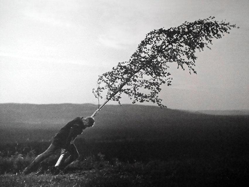 Max von Sydow in Bergman's 'The Virgin Spring'