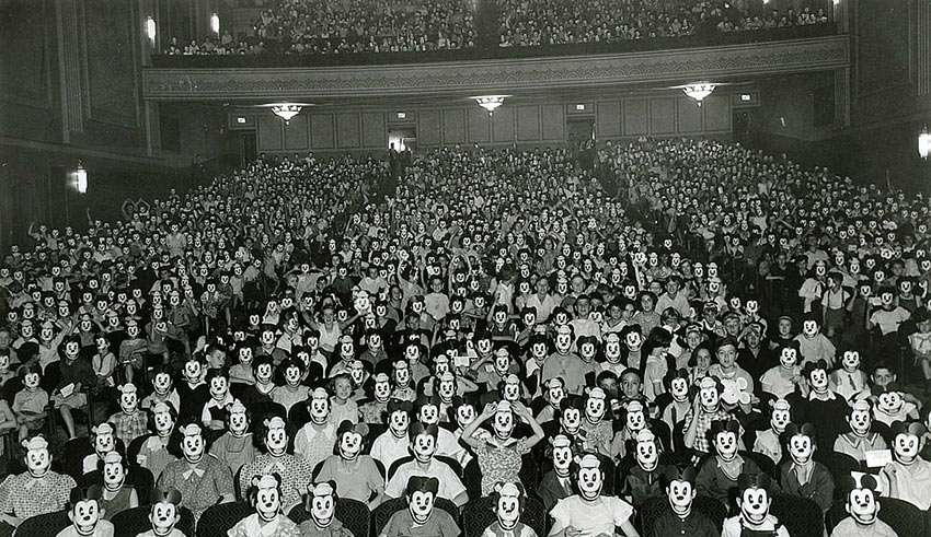 movie crowd