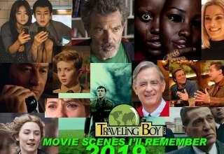 movie scene I'll remember, 2019