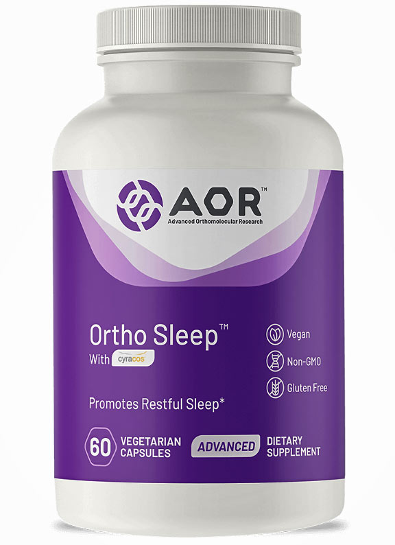 AOR's Ortho Sleep vitamins