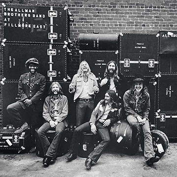 the Allman Brothers Band at the Fillmore East
