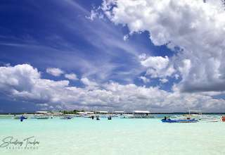 the sandbar at Virgin Island, Panglao, Bohol