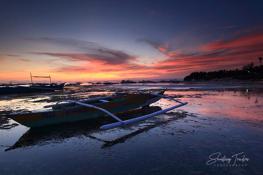 sunset at Danao Beach, Panglao Island, Bohol