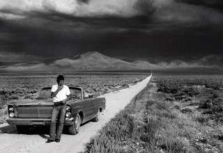 Bruce Springsteen on the road