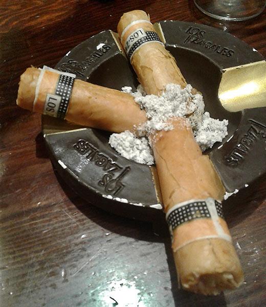cigar-looking tapas