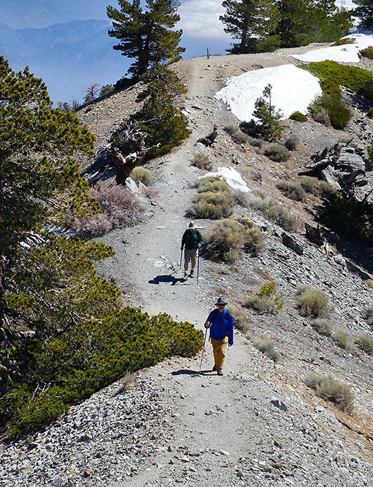 hiking the Devil's Backbone