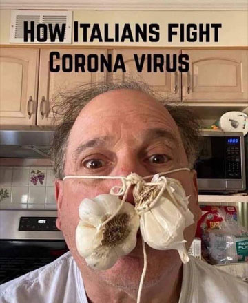 Parting Shots: Italians Fight Coronavirus