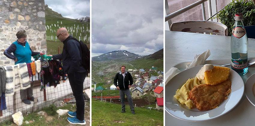 James at Bosnia and Moldova