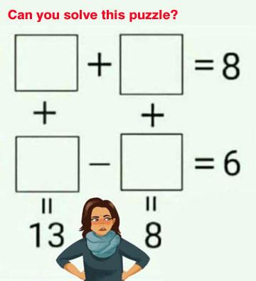 Parting Shots: Math Puzzle