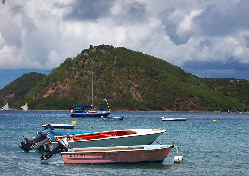 boats at St. John