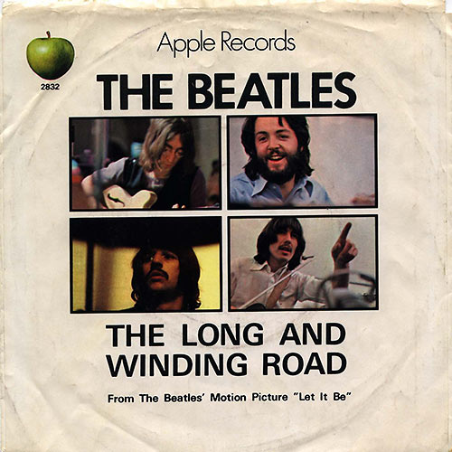 The Long & Winding Road sleeve