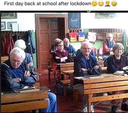 Parting Shots: 1st Day School Post Lockdown