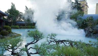 Beppu Onsen hot springs, Japan